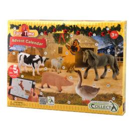 CollectA Ημερολόγιο Άλογα & Φάρμα με 12 κάρτες AR (84178)
