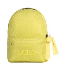 Polo Σακίδιο Πλάτης Double Scarf Τζιν Χρώμα Κίτρινο (901235-97-00)