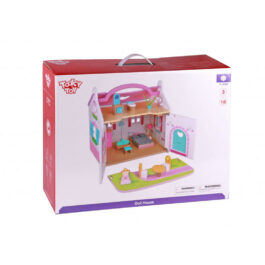Tooky Toy Ξύλινο Κουκλόσπιτο (TKI050)