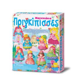4M Κατασκευή Πριγκίπισσες Μαγνητάκια – Καρφίτσα (03528-4M0148)