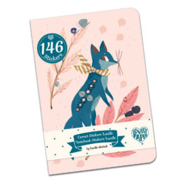 Djeco Σημειωματάριο Με 146 Αυτοκόλλητα 'Lucille' (03575)