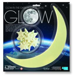 4Μ Φωσφορούχα Αστέρια Και Φεγγάρι (05215-4M0031)