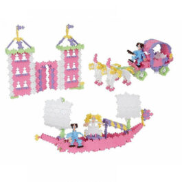 Plus Plus Τουβλάκια Σε Κουτί Pastel 480 τεμάχια Πριγκίπισσα 3 σε 1 (PLS03771)