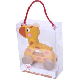 Tooky Toy Ξύλινη Καμηλοπάρδαλη Συρόμενη (TKC266)
