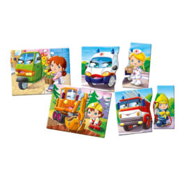 Clementoni Εξυπνούλης Επαγγέλματα & Οχήματα (1024-63768)