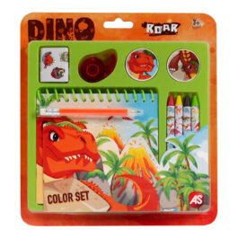AS Σετ Ζωγραφικής Color Set Δεινόσαυροι (1027-64150)