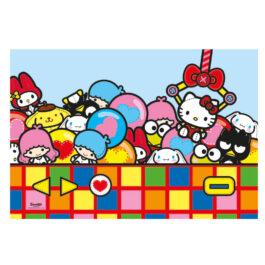 Clementoni Παζλ 24 Τεμάχια Maxi Hello Kitty Super Color (1200-24202)