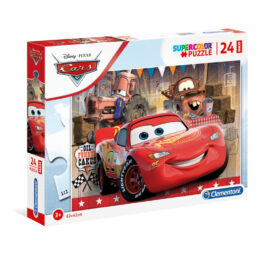 Clementoni Παζλ 24 Τεμάχια Maxi Super Color Disney Cars (1200-24203)