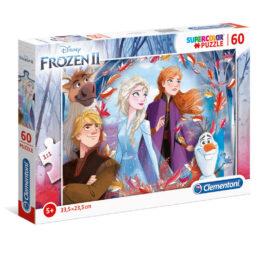Clementoni Παζλ Disney Frozen 2 Παζλ 60 Τεμάχια Supercolor (1200-26058)