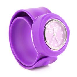 Wacky Watches Παιδικό Ρολόι SLAP 3D Colour Purple (14482279)