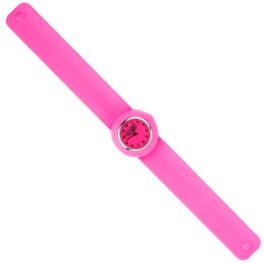 Wacky Watches Παιδικό Ρολόι SLAP 3D Colour Hot Pink (14482285)