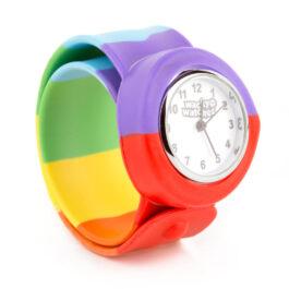 Wacky Watches Παιδικό Ρολόι SLAP 3D Colour Rainbow (14482288)