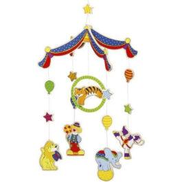 Goki Ξύλινο Μόμπιλε Πολύχρωμο Τσίρκο (52920)