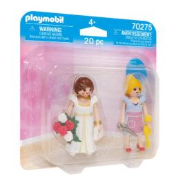 Playmobil Duo Pack Νύφη Και Μοδίστρα (70275)
