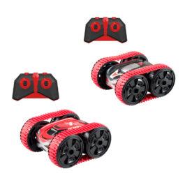 AS Exost Stunt Tank Τηλεκατευθυνόμενο Αυτοκίνητο Κόκκινο (7530-20256)