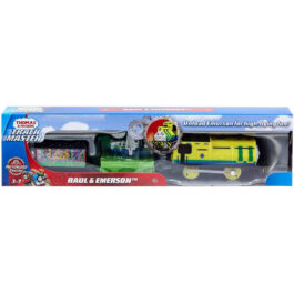 Fisher Price Thomas And Friends Trackmaster Raul And Emerson Με 2 Βαγόνια (BMK93-GHK77)