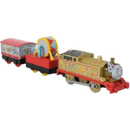 Fisher Price Thomas And Friends Trackmaster Golden Thomas Με 2 Βαγόνια (BMK93-GHK79)
