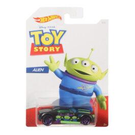 Mattel Hot Wheels Αυτοκινητάκι Alien (Toy Story) 1:64 (GDG83-GBB27)