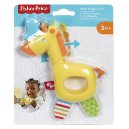 Fisher Price Clutch And Click Giraffe Ζωάκια Σαφάρι – Καμηλοπάρδαλη (GGF02-GGF05)
