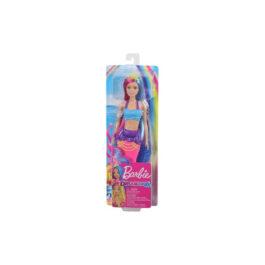 Barbie Dreamtopia Έκπληξη Γοργόνα Κούκλα Με Μπλε Ουρά (GJK07-GJK08)