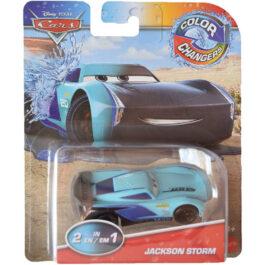 Mattel Cars Αυτοκινητάκια Χρωμοκεραυνοί Color Changers – Jackson Storm (GNY94-GNY99)