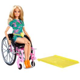 Barbie Fashionistas Με Αναπηρικό Αμαξίδιο (GRB93)