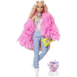 Barbie Extra-Fluffy Pink Jacket (GRN28)
