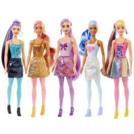 Barbie Color Reveal Shimmer Series Κούκλα Με 7 Εκπλήξεις (GTR93)