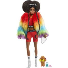 Barbie Extra-Rainbow Coat (GVR04)