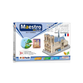 Remoundo 3D Πάζλ Notre Dame de Paris 96 Τεμάχια (MY1018)