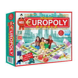 Argy Toys Επιτραπέζιο Classic Europoly Double (0305)
