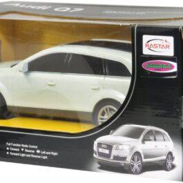 Jamara-Rastar Τηλεκατευθυνόμενο Audi Q7 1:24 Ασπρο 2,4GHz (400089)