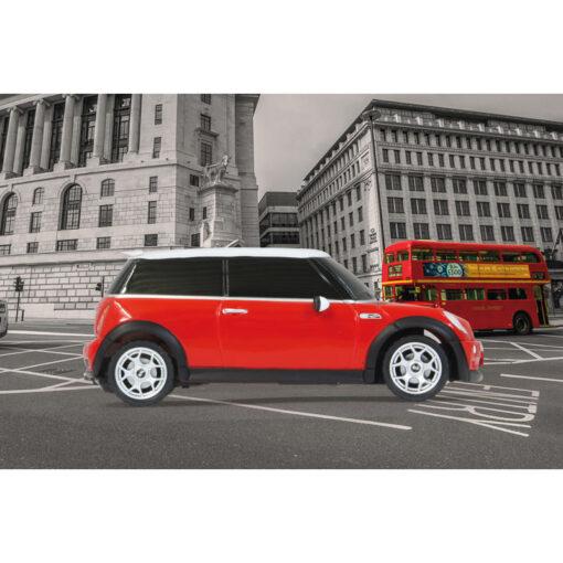 Jamara-Rastar Τηλεκατευθυνόμενο Mini Cooper S 1:24 Κόκκινο 40MHz (404035)