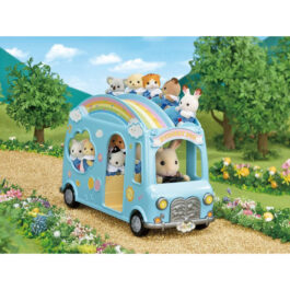 Epoch Sylvanian Families: Sunshine Nursery Bus – Χαρούμενο Σχολικό Λεωφορείο (5317)