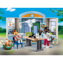 "Playmobil Play Box ""Κτηνιατρείο"" (70309)"