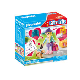 Playmobil Fashion Girl Με Σκυλάκι  (70595)