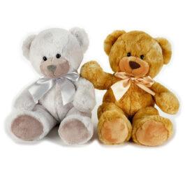 Lelly Λούτρινο Αρκουδάκι Willy Σε 2 Χρώματα 35 εκ. (753228)