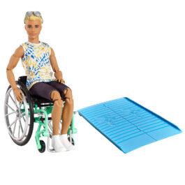 Barbie Ken Fashionistas Με Αναπηρικό Αμαξίδιο (GWX93)