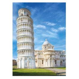 Clementoni Παζλ 1000 Τεμάχια High Quality Collection Ο Πύργος Της Πίζας (1220-39455)