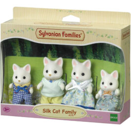 Epoch Sylvanian Families: Silk Cat Οικογένεια (4175)