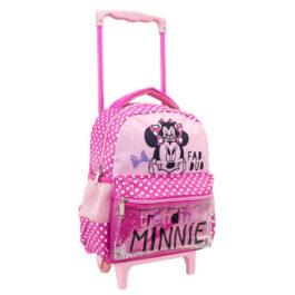 Διακάκης Τσάντα Τρόλευ Με 2 Θήκες Minnie Fab Duo (562670)