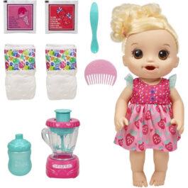 Hasbro Baby Alive Magical Mixer Κούκλα Μωράκι Με Αξεσουάρ (E6943)