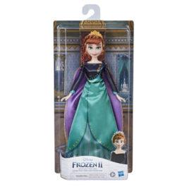 Hasbro Disney Frozen 2 Fashion Doll Opp Queen Anna Βασίλισσα Άννα (F1412)