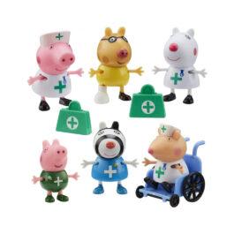 Giochi Preziosi Peppa Pig Σετ Φιγούρων Γιατροί (PPC95000)