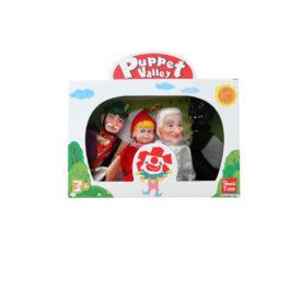 Argy Toys Μαριονέτες Σετ 4 Τεμάχια Κοκκινοσκουφίτσα (7291M)