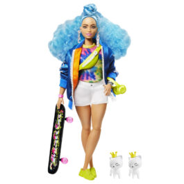 Barbie Extra – Blue Curly Hair (GRN30)