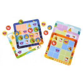 Tooky Toy Επιτραπέζιο Ξύλινο Sudoku Φάρμα (TL631)
