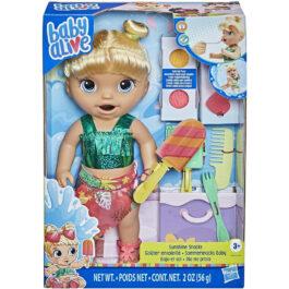 Hasbro Baby Alive Sunshine Snacks Blond Hair (F1680)