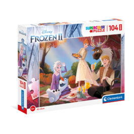 Clementoni Παζλ 104 Τεμάχια Maxi Frozen 2 (1210-23757)