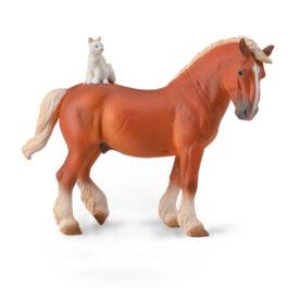 CollectA Άλογο Εργασίας Με Γάτα (88916)